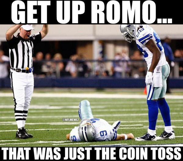 Happy birthday to the legend, Tony Romo.