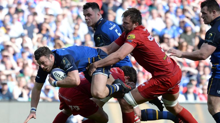 test Twitter Media - REPORT - Leinster 38-16 Scarlets - Leo Cullen's men charge into the European Rugby Champions Cup final with a commanding win over the Scarlets in Dublin: https://t.co/h2cIFoGnd9 https://t.co/L3L3Bbbjbn