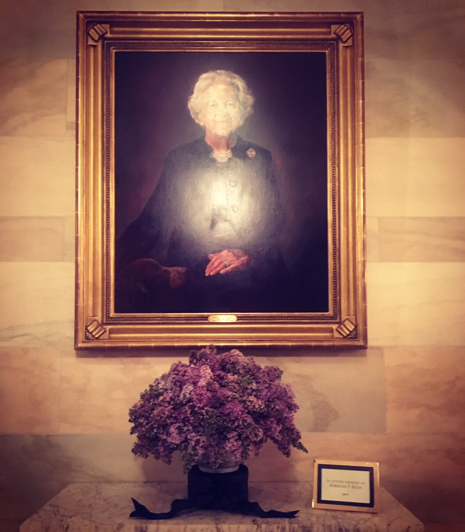 What a beautiful tribute to a wonderful woman who lived for God, family and country. https://t.co/sBKNmkgsI6