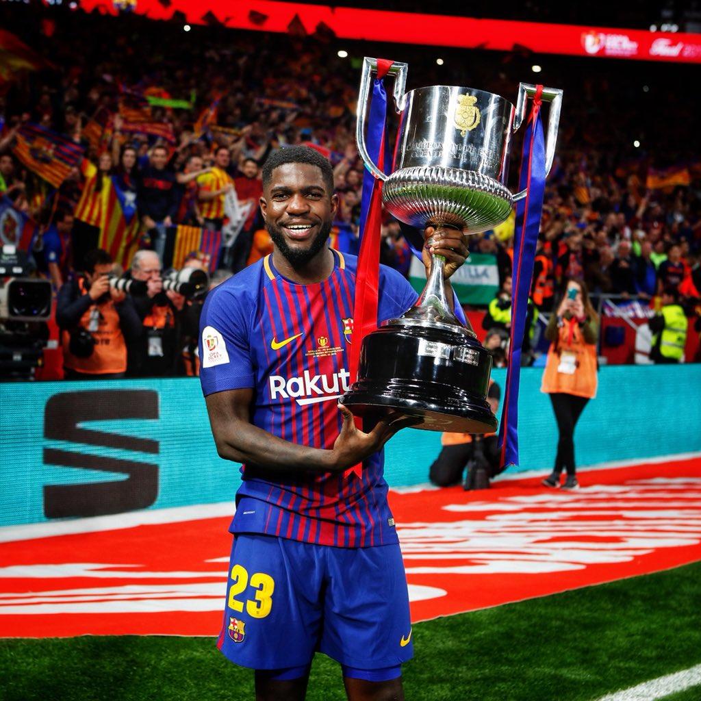 �� Campeones de Copa! �������� #ForçaBarça https://t.co/jlCqrKxIul