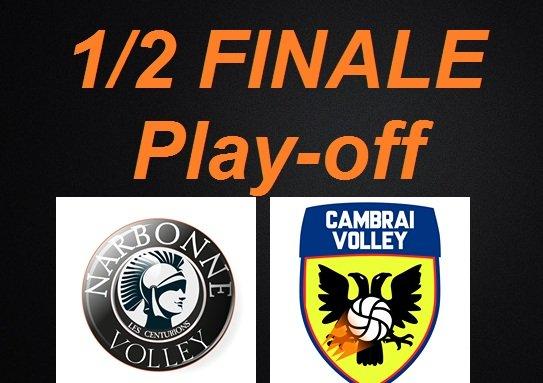 Demi-finale aller de #LBM @LNVofficiel   : victoire des #Centurions vs...