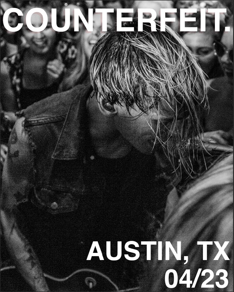 AUSTIN TEXAS. MONDAY 4/23. Be there. Tickets from https://t.co/ArEdyMcxKq https://t.co/2oHQvQ2oac