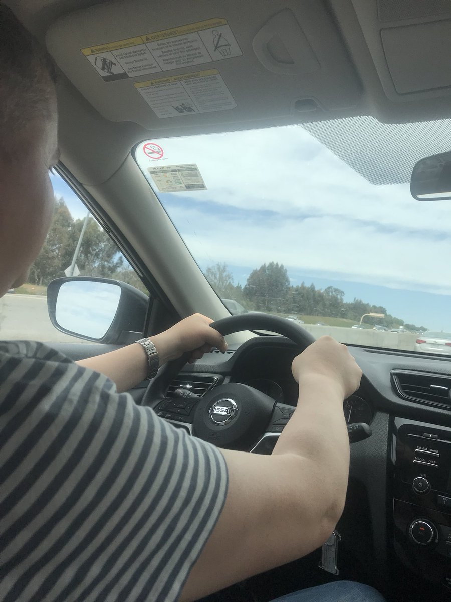 gentianshero: Me driving a car #roadtoimagine https://t.co/oby5xFgcFx