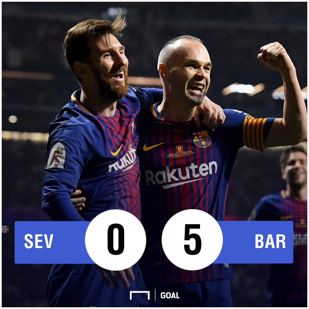 #SevillaBarça