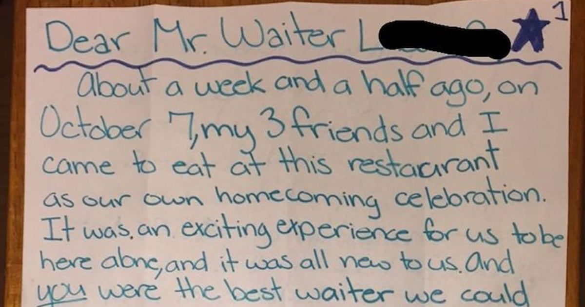 Waiter Left Frustrated With $3 28 days later