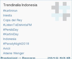Trend Alert: #KartiniDay. More trends at https://t.co/OMCuQPRWwL #trndnl https://t.co/ppqRLH4HxY