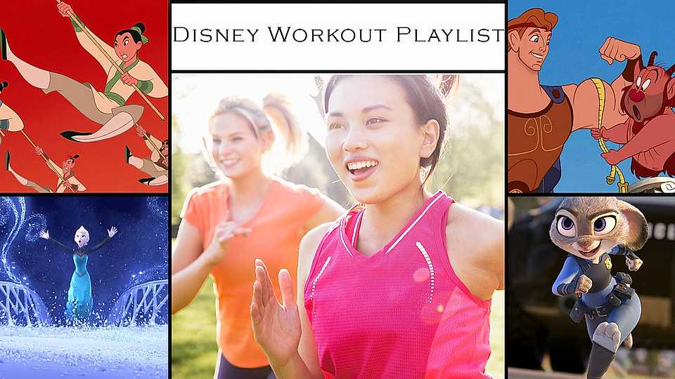 Disney workout playlist: These songs will make a man out of you!