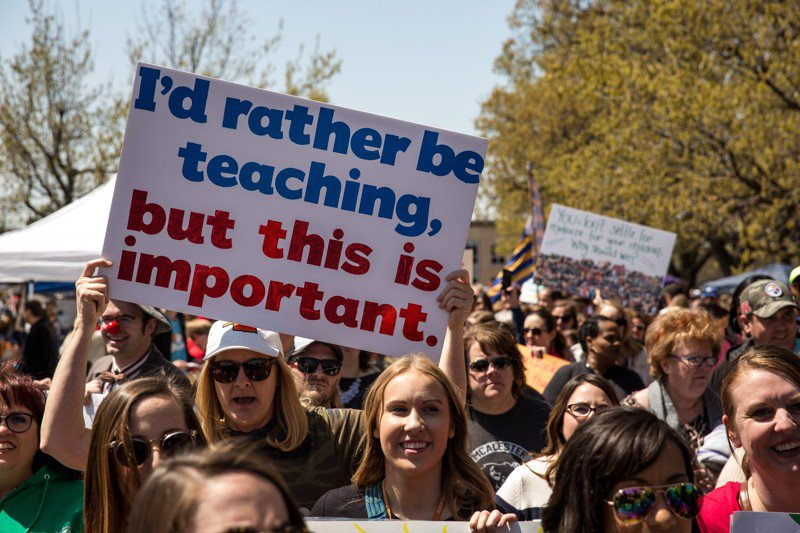 Politicians' portrayal of teachers shifts with … politics