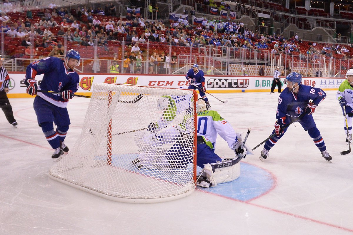 RT @TeamGBicehockey: More from the 3rd period.  📸 @woolster80 https://t.co/M2utmfNblm