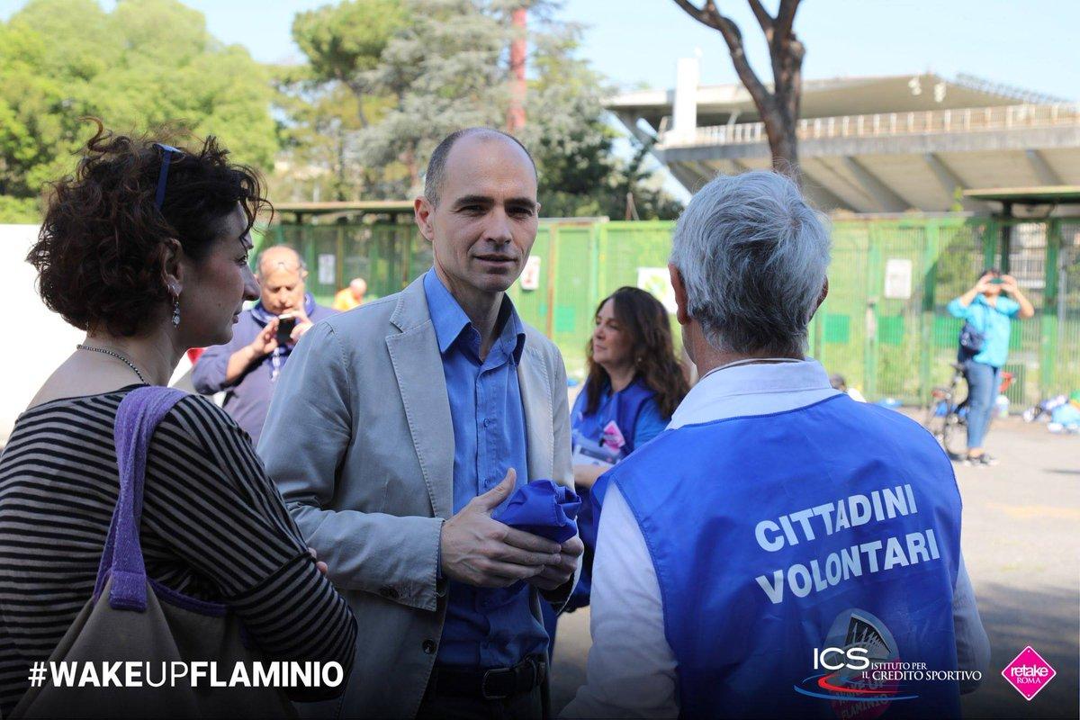 test Twitter Media - L'ottima iniziativa di ieri di @Retake_Roma allo Stadio Flaminio, non sia alibi per @danielefrongia, @virginiaraggi e @MontanariPin sulla lotta per il decoro di tutta l'area. Le istituzioni si impegnino intorno a @audtoriumPdM https://t.co/9ChL7ouCU6 https://t.co/IOlVsgIxwT