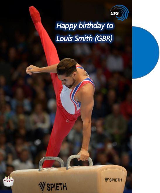 Happy birthday to British pommel horse Louis Smith!