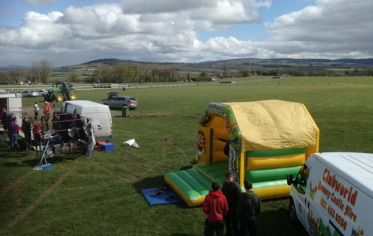 test Twitter Media - Queues starting for the bouncy castles at Doneraile ptp in Dromahane  #ComeRacing https://t.co/rNzhwINGd8