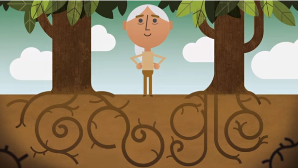 RT @SciForbes: Jane Goodall celebrates #EarthDay in today's Google Doodle: https://t.co/r4bMUYSe6k https://t.co/CDS3mIje48