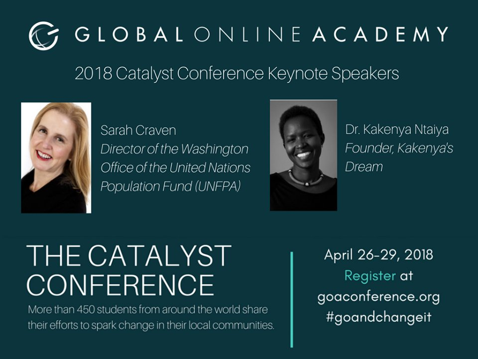 test Twitter Media - #profdev RT MeaningfulMindx: 📢 BIG NEWS: Our GOAlearning 2018 Catalyst Conference Keynotes are KakenyaN of KakenyasDream and Sarah Craven of UNFPA. Hear from these incredible #leaders on 4/26. FREE to register open to all.  #GOAndChangeIt #edchat #gl… https://t.co/m9txQ5Hh1r