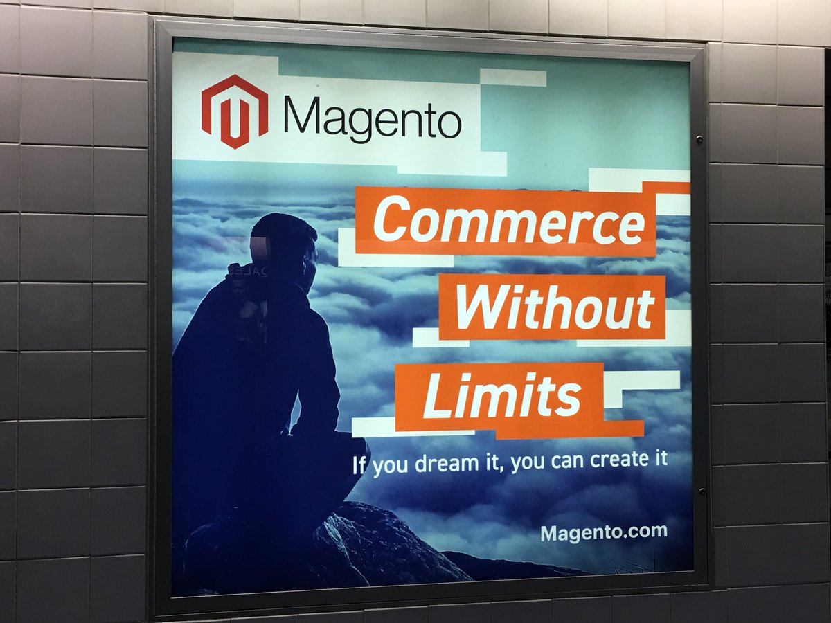 briggsbrandon: Love to see the #MagentoImagine signage in the airport. #RoadToImagine https://t.co/PMoe1wtdDv