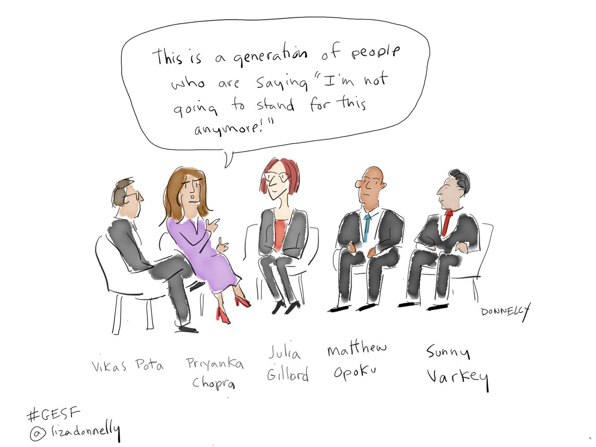 RT @VarkeyFdn: Cartoonist @lizadonnelly captured some of the best bits at #GESF like never before. https://t.co/NgfH3648ha