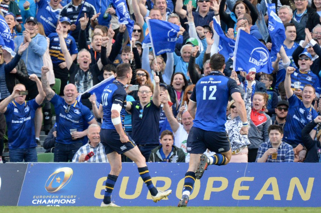 test Twitter Media - We now know who will contest the 2018 Champions Cup final 🙌 🇮🇪 Leinster vs Racing 92 🇫🇷 📺 BT Sport 2 HD 📆 Saturday, May 12 ⏰ 4pm https://t.co/CAWzornHav