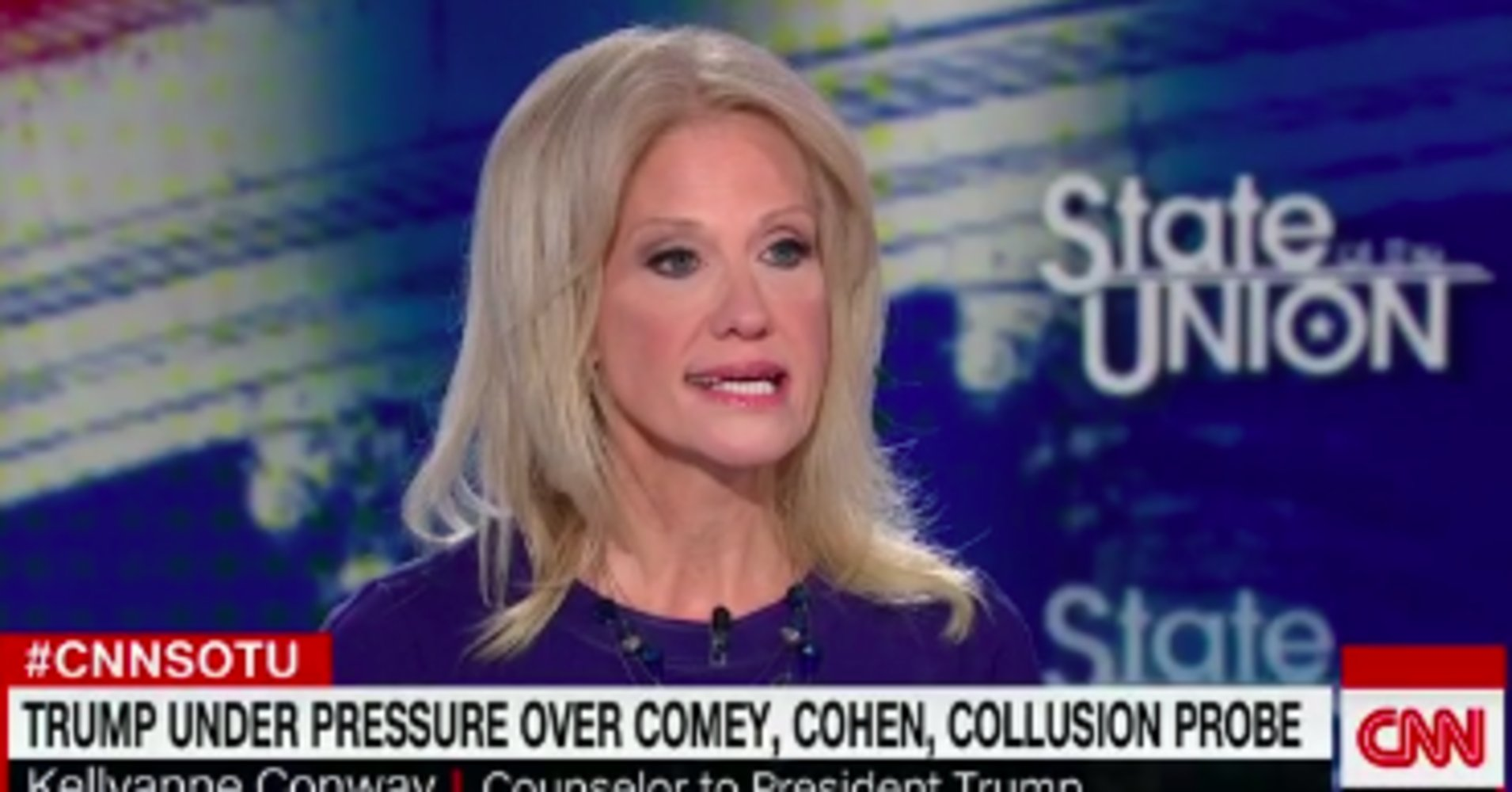 Kellyanne Conway Flips Out When Asked About Her Husband's Trump-Trolling Tweets - HuffPost https://t.co/gfRz7xws9I https://t.co/fxzOetrByo
