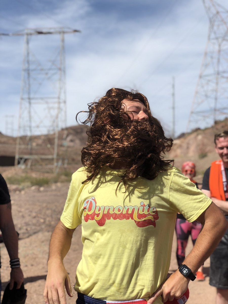 mrloo: Hair Game on #BigDamRun #MagentoImagine @philwinkle @philwinkleshair https://t.co/C6PVIpuQE1