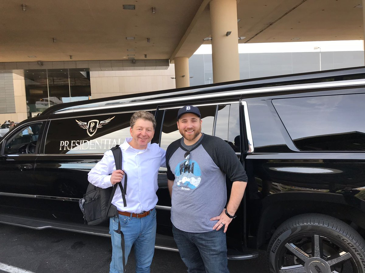 nexcess: A great ride with Jeff from @custparadigm. We hope you enjoyed it! #Nexcesslive #MagentoImagine https://t.co/ZQ1vzrUUE5