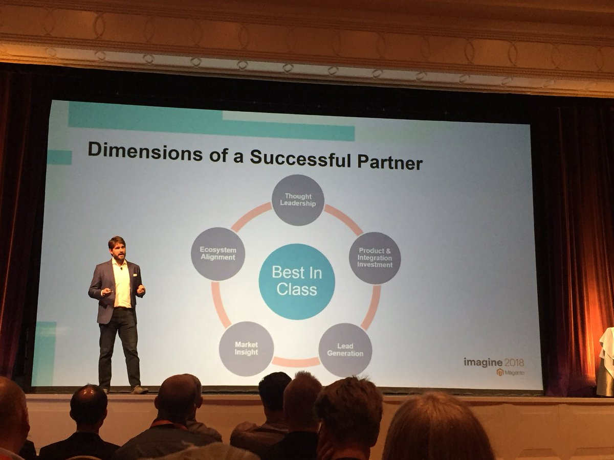vatsalshah: Dimensions of a successful technology partner - who build extensions for @magento  #MagentoImagine https://t.co/0sP1uD9SFB