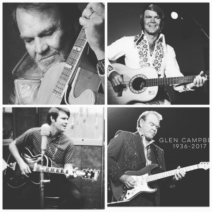 Happy Heavenly Birthday Glen Campbell! 4.22.36 - 8.18.17.