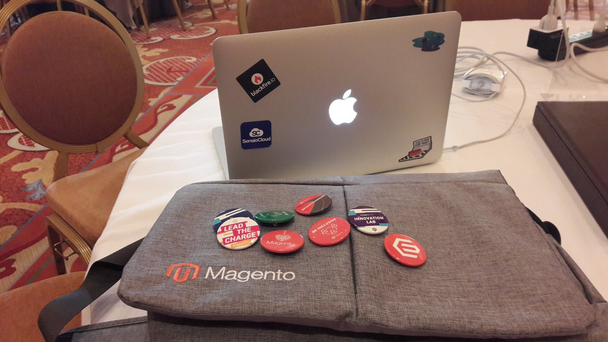 blackfireio: #blackfireio has arrived at #MagentoImagine ! Meet @Chris_Dujarric at the hackathon https://t.co/mNSBsyaZss