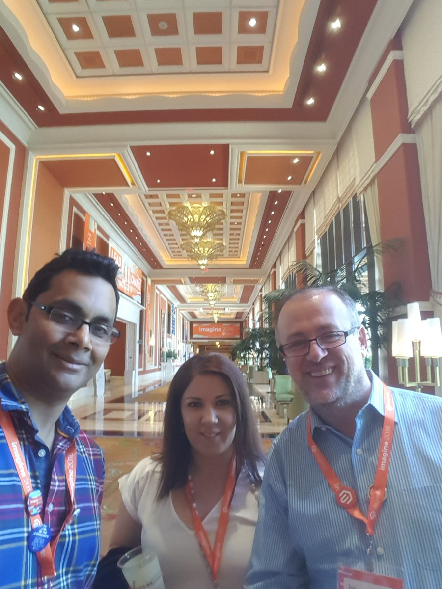 ramadassp: Registered and ready :) #MagentoImagine https://t.co/evC3WkEv0j