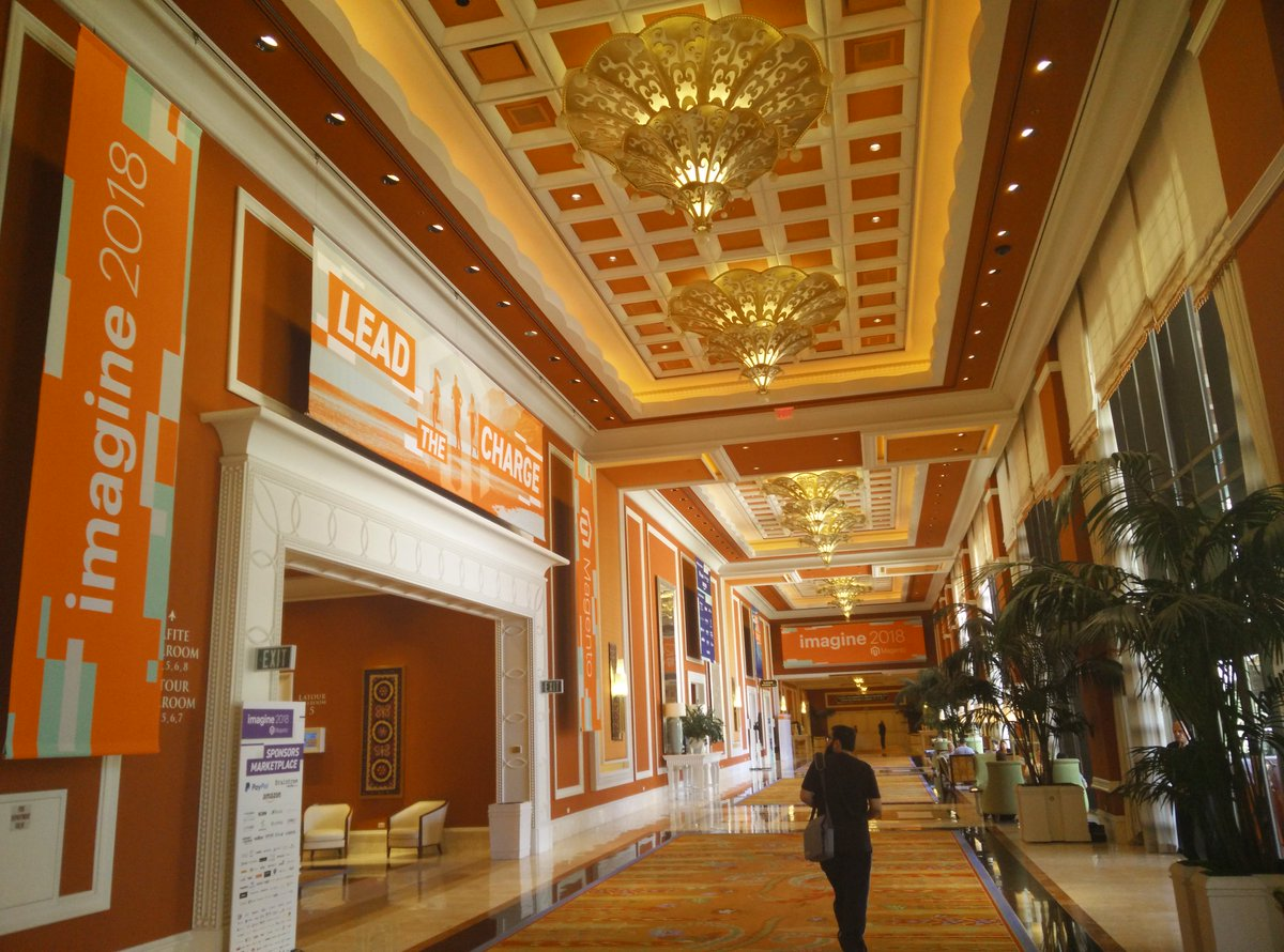 fschmengler: Hello #MagentoImagine https://t.co/4ZyYB6mvRE
