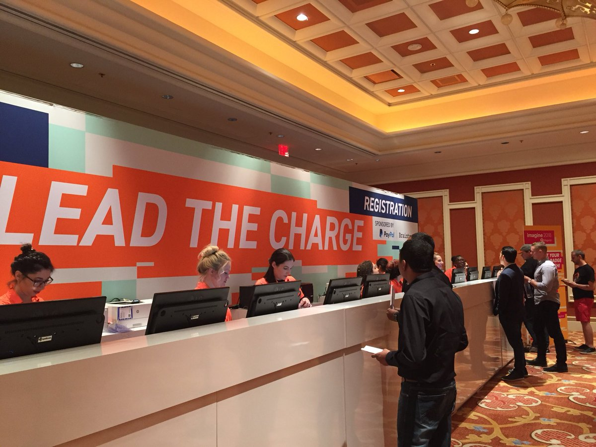 vatsalshah: Registration started #MagentoImagine https://t.co/niGCkrx3eq