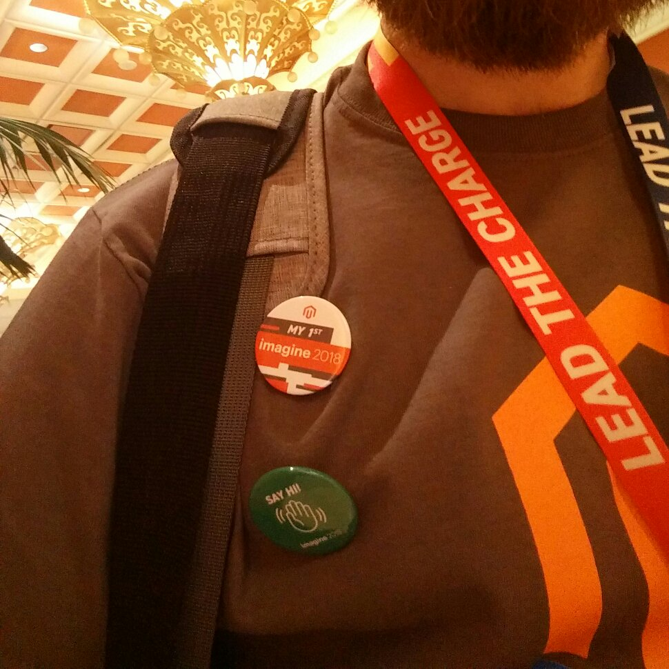 fschmengler: They have nice buttons here #MagentoImagine https://t.co/w3qqREmmfi