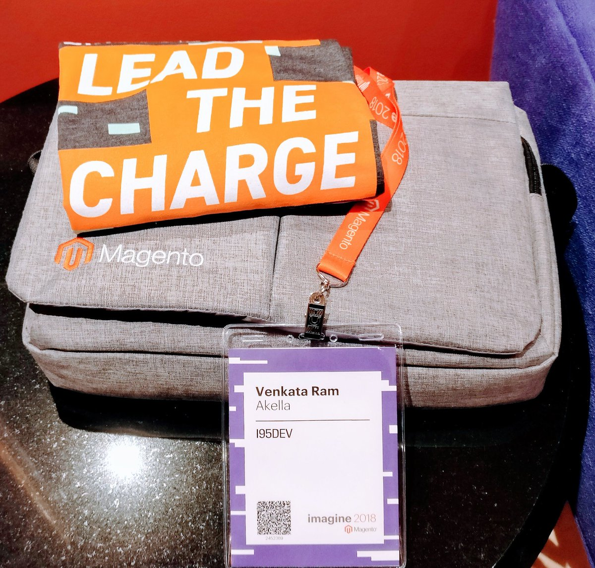 akellaram87: Lead The Charge!! @magento @i95Dev #Magentoimagine https://t.co/4YRvLck1oS