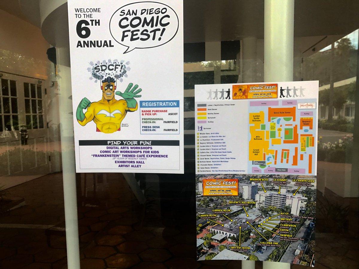 #SDComicFest