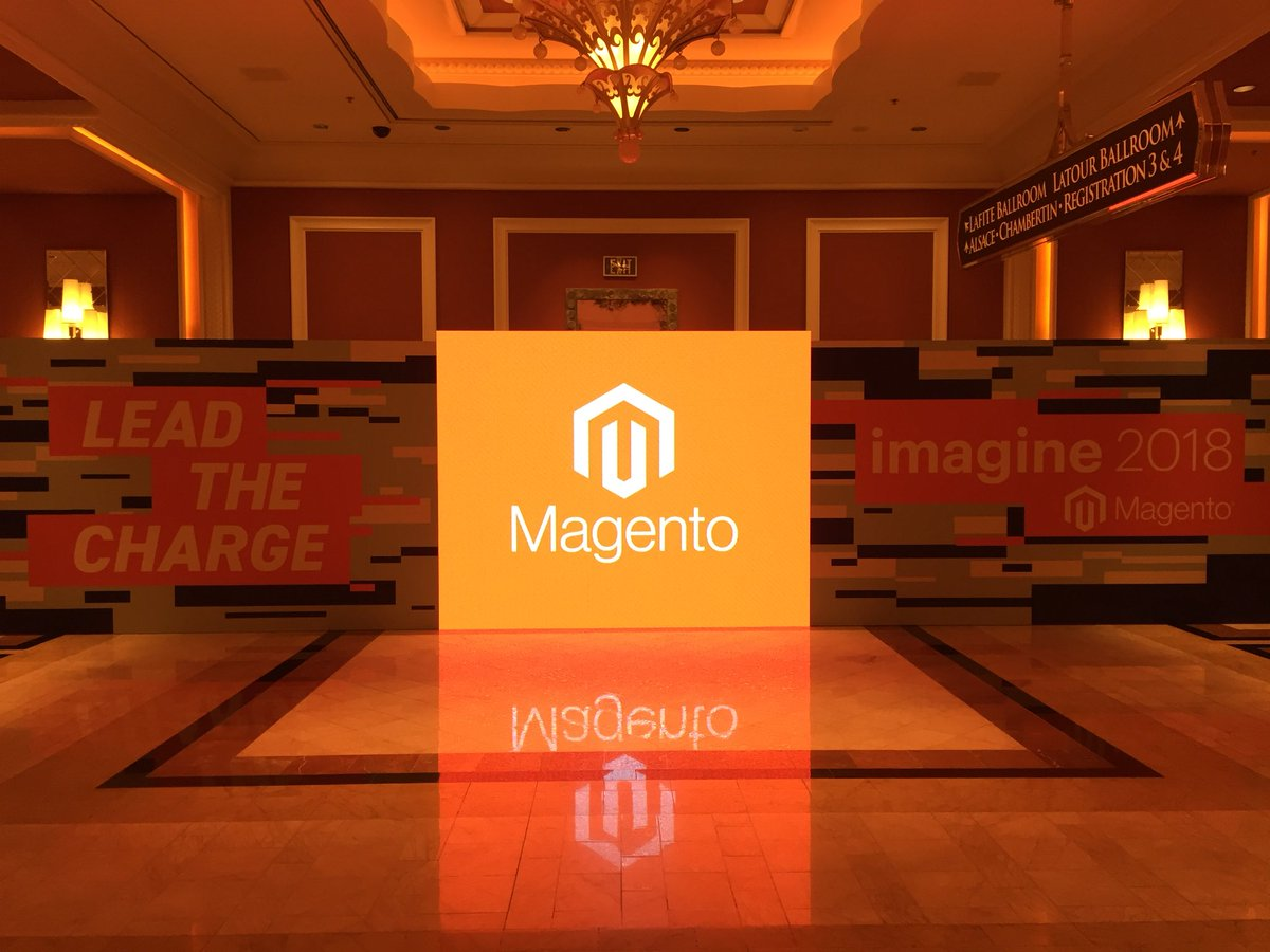 mediaspa: The #RoadToImagine leads here: welcome to #MagentoImagine!nnLet's do this!! 😀nn@magento #ecommerce https://t.co/4jwULtDt6l