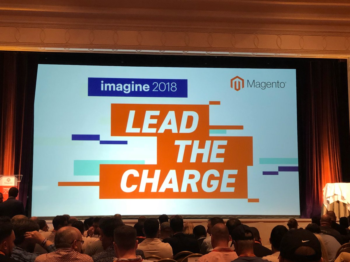 blueacorn: Kicking off #MagentoImagine with the annual Partner Summit with 500 of our closest partners, friends & frenemies 👫👫 https://t.co/KPq0hySJA3