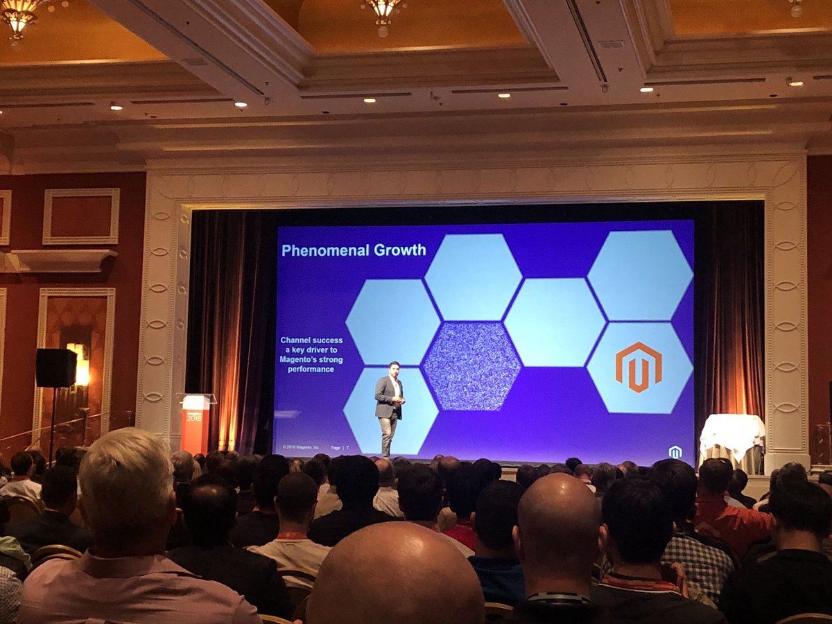 lewissellers: It's the start of #MagentoImagine 2018. Kicking things off at the Partner Summit https://t.co/7fUGMAJaER