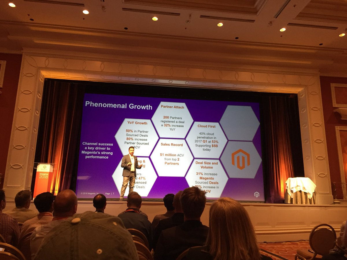 vatsalshah: sharing of fantastic Stats of 2017-18 by @ryan_quaye #MagentoImagine https://t.co/Y4P9avjVfz