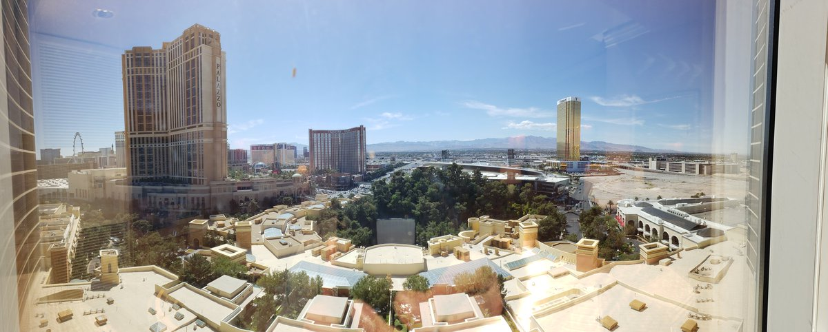 DavidStillson: I'm liking this view from my room at The Wynn.  #MagentoImagine https://t.co/pquvEiQPob