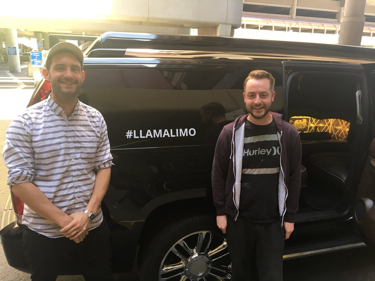 addressytom: Thanks for the #llamalimo ride @classyllama !! See you at #PreImagine https://t.co/farxne56DY