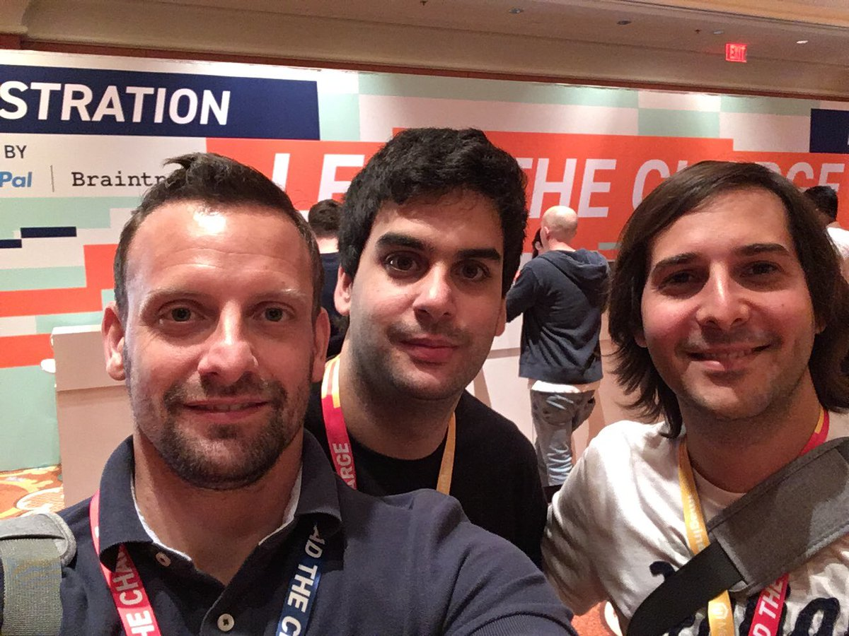 onetreeows: Team already registered #magentoImagine https://t.co/9EzHvZTfcl