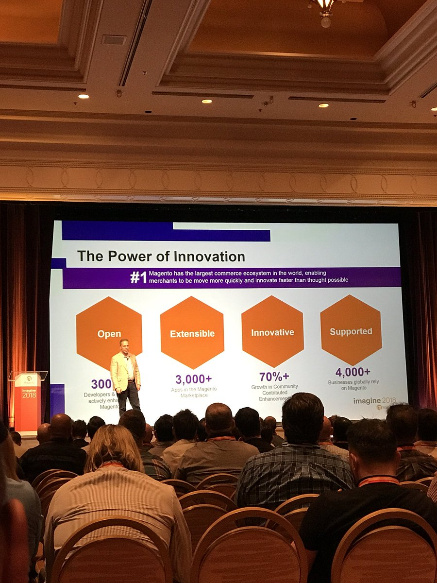 gsicotte: This is the Power of Innovation. #MagentoImagine #Magento https://t.co/FqVJI32ssw