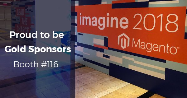 DCKAP: Privileged to be a part of the @magento community.n#magentoimagine #imagine2018 #MagentoImagine2018 #Gold_Sponsors https://t.co/8TwypiI5aZ