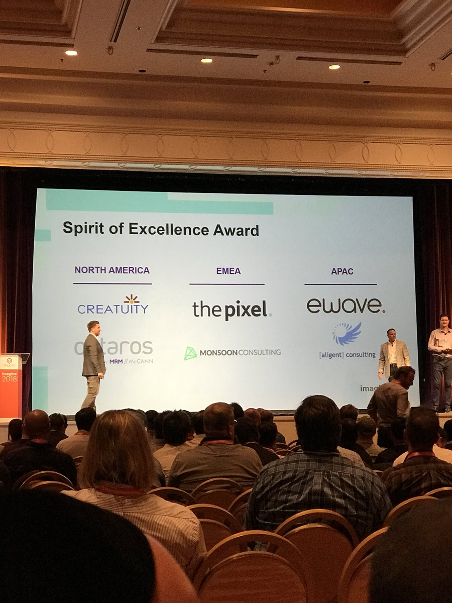 gsicotte: Congrats to our amazing partners! #MagentoImagine https://t.co/uSaZ6nJWCJ