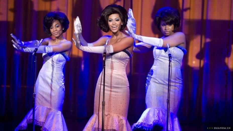 'Dreamgirls' stars @Beyonce and @IAMJHUD reunite at