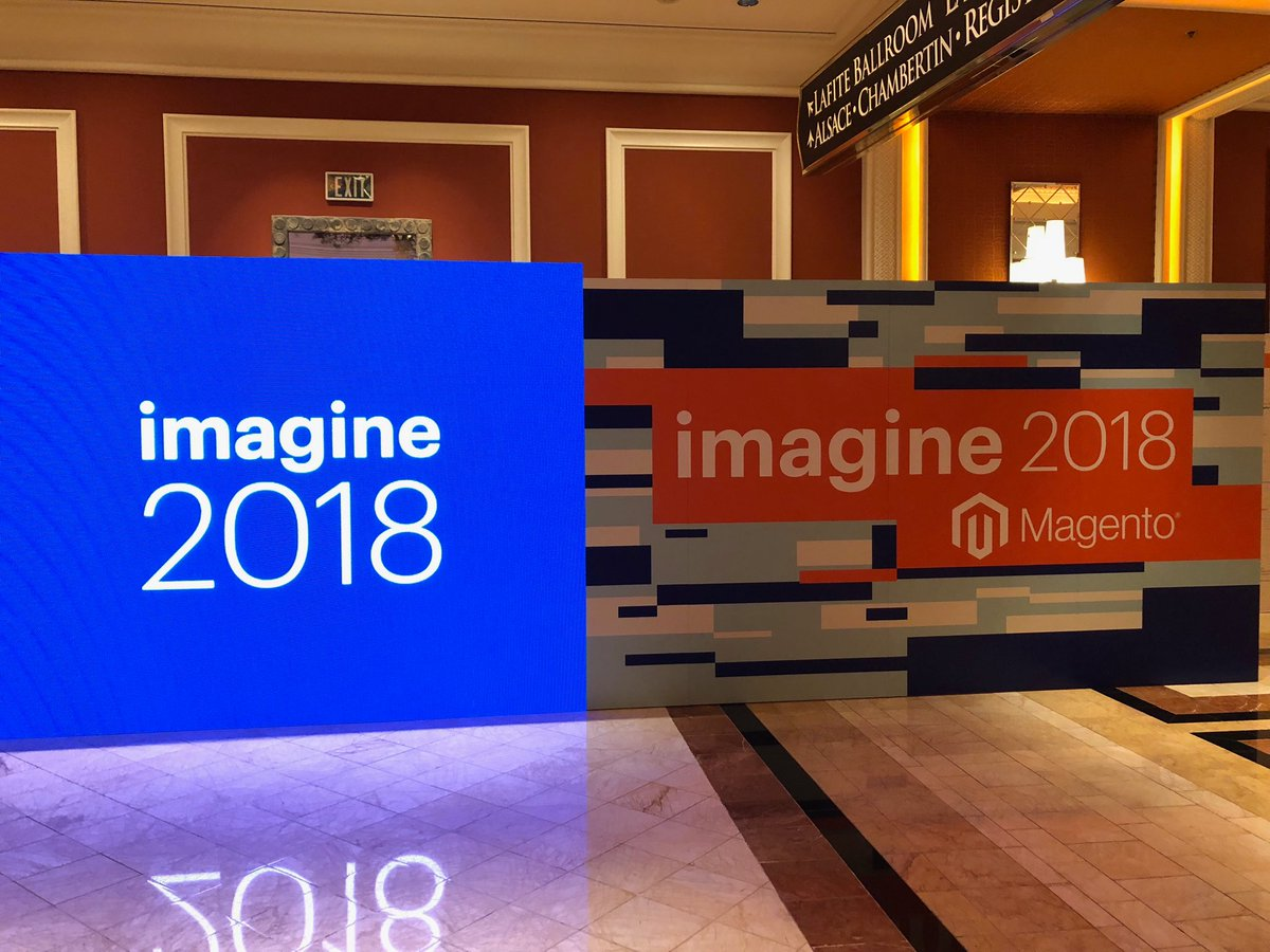 p3mbo: Excited 😬😬 #MagentoImagine #MagentoImagine2018 https://t.co/KoQM3KPj94