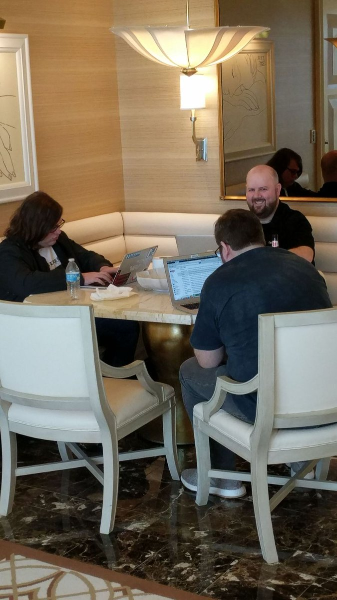nexcess: #NexcessLive support team: out of the office but still hard at work at #MagentoImagine. https://t.co/cDXqvOUKs4