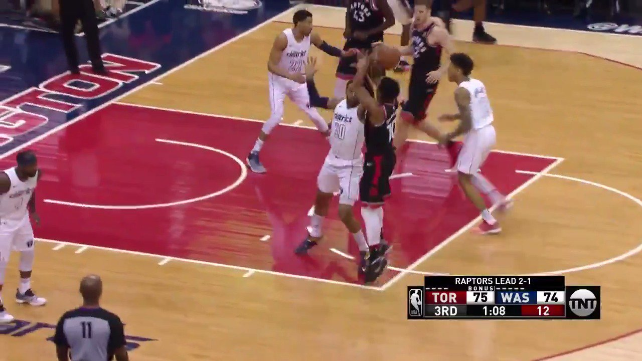 DeMar DeRozan records 14 PTS in the 3rd Quarter! #WeTheNorth #NBAPlayoffs https://t.co/r5eKcVYH6p