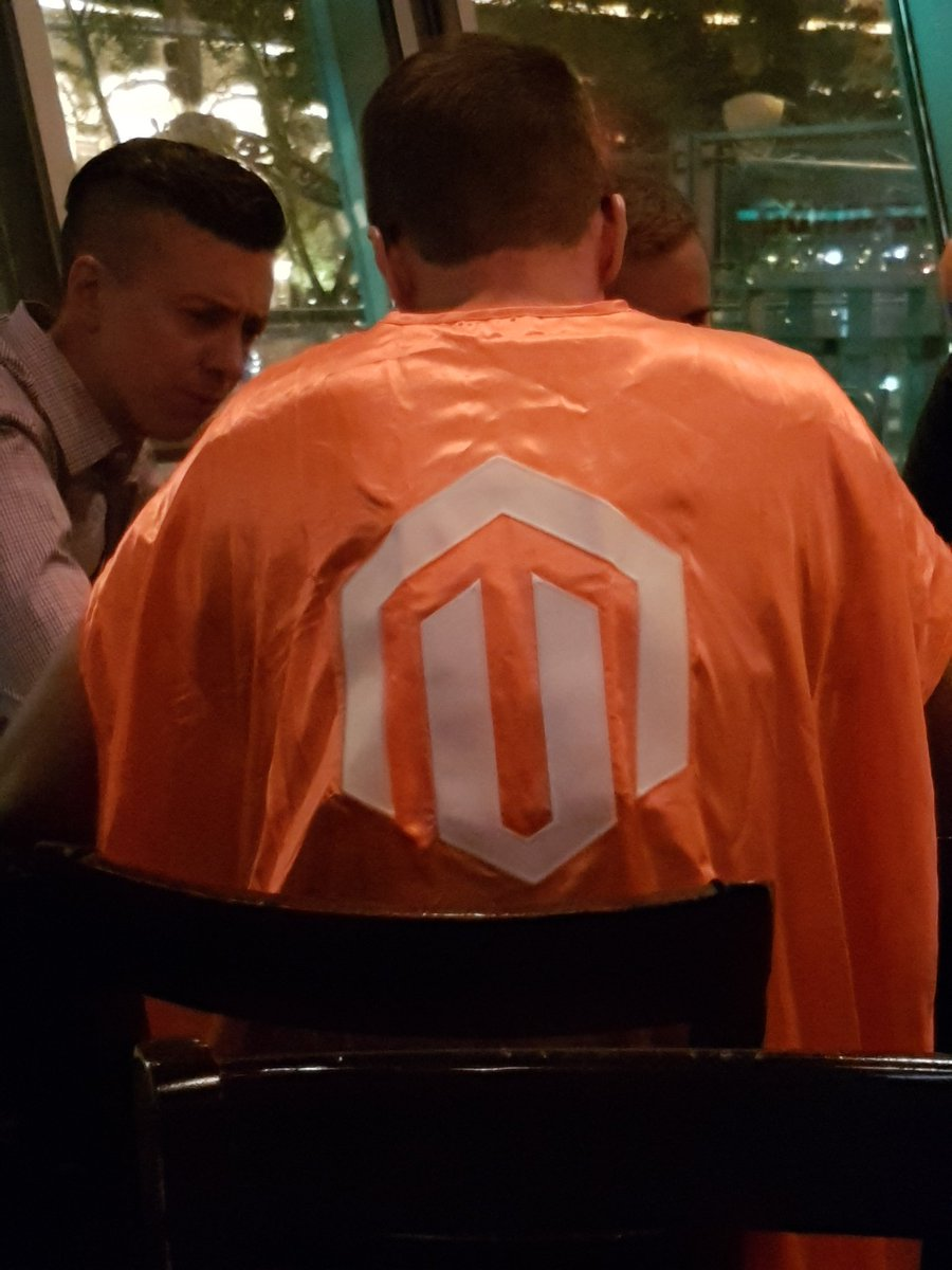RicTempesta: That moment you realize Magento superheroes exist! #MagentoImagine https://t.co/QF5niR8lcl