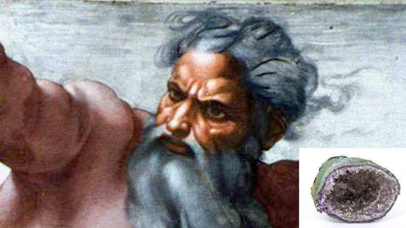 God Struggling To Remember How To Make Geodes https://t.co/UHQbfGgAD5 https://t.co/N6pIeJ9sLM