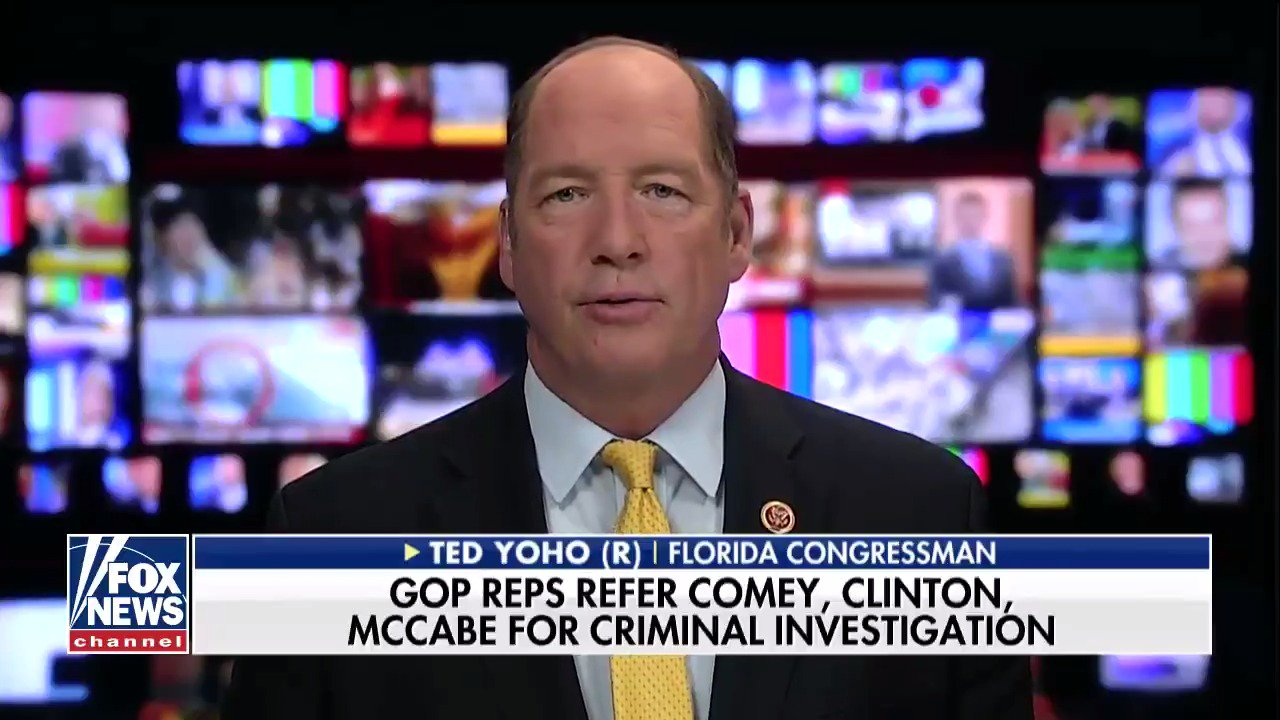 .@RepTedYoho: 'The American people are fed up— they want justice.' @NextRevFNC https://t.co/71zYiR9ykF https://t.co/m9w7dy8Vjd